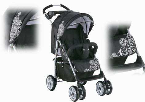 knorr-baby sportwagen vero.jpg. Készleten  0. Knorr Baby Vero Fekete Mintás  Sport Babakocsi 5c217b5a8e
